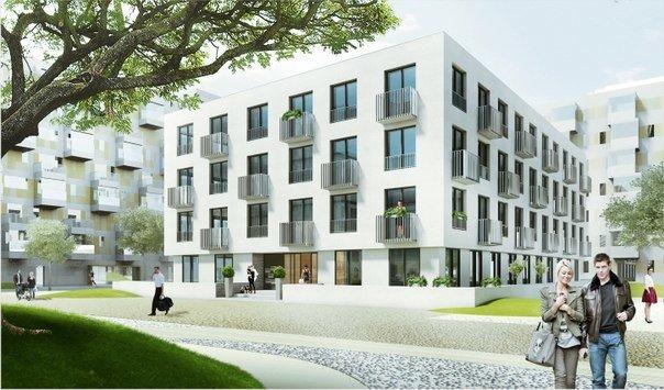 Планировка Двухкомнатная квартира площадью 43.75 кв.м в ЖК «Янила Кантри»